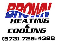 Brown Heating & Cooling Logo